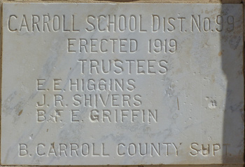 Carroll School Cornerstone